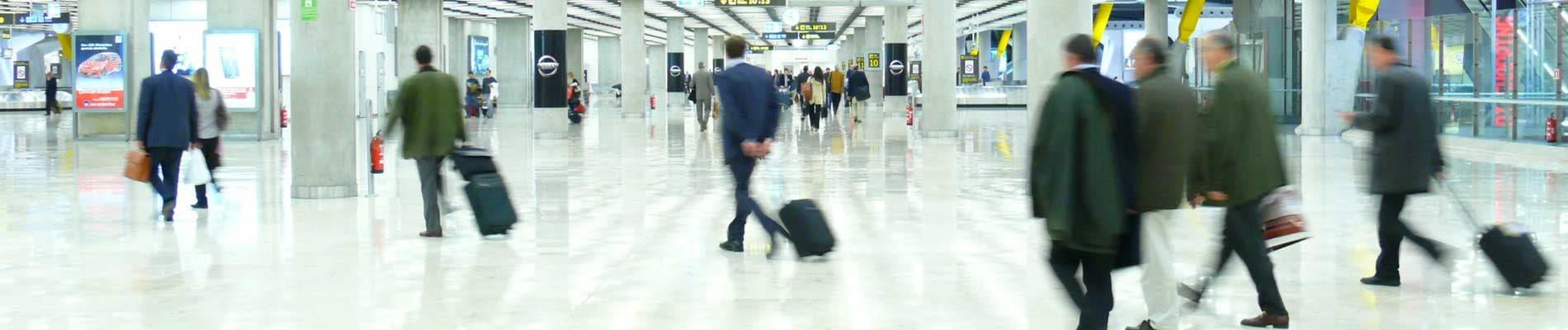 Pessoal de portos e aeroportos