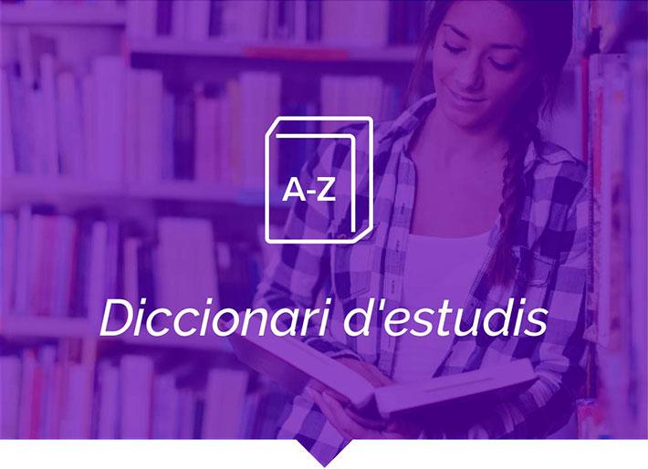 Diccionari d'estudis