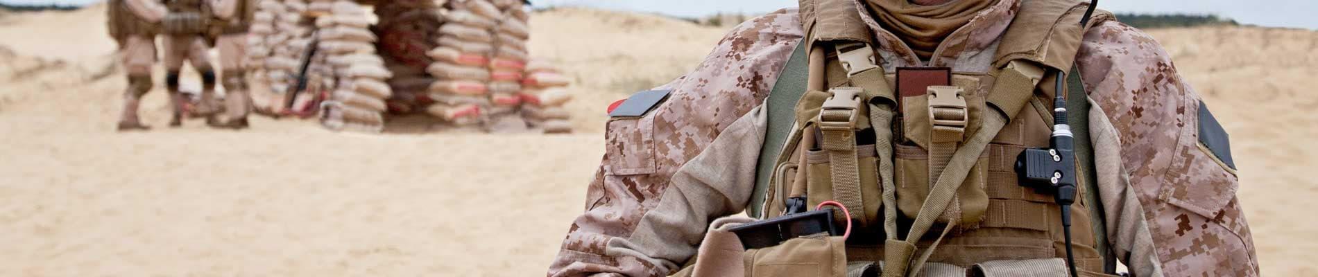 Militare di carriera professionale esercito