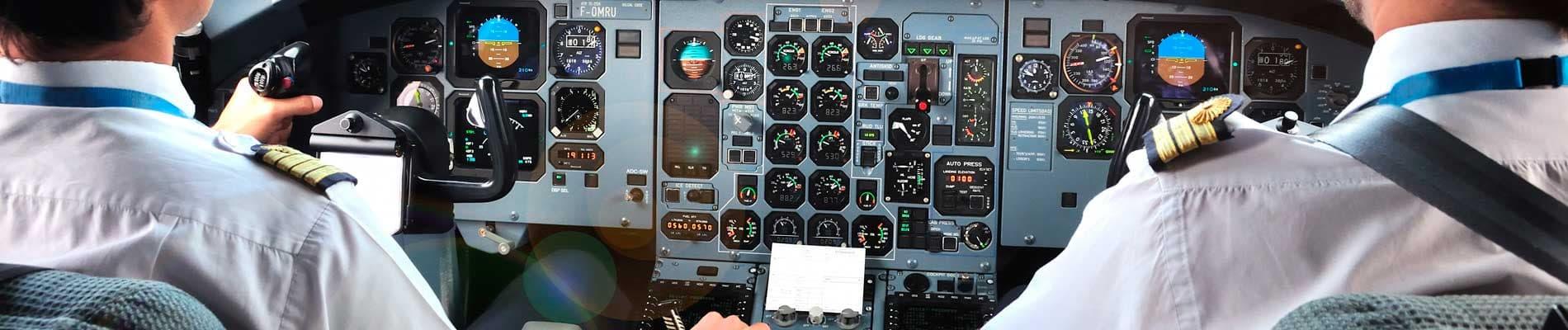 Conductor de transportes y piloto